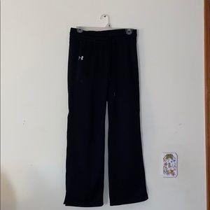 Black Under Armour sweatpants semi fit
